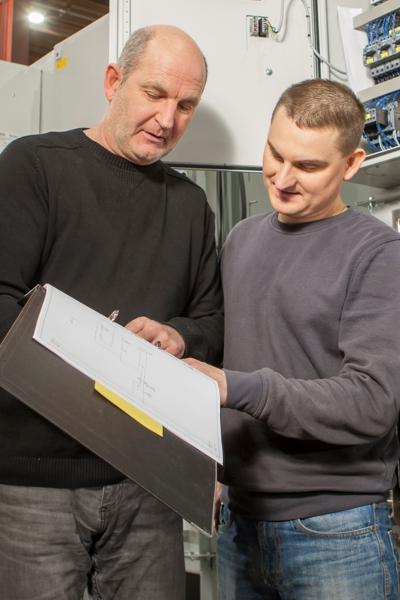 Ausbildung zum Elektroniker bei KMA Umwelttechnik
