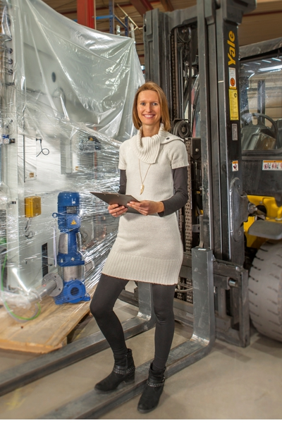 Assistentin Produktionsleiter bei KMA Umwelttechnik