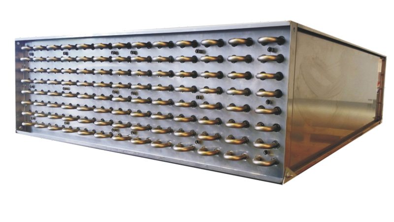 The KMA heat exchanger enables the recovery of process heat during exhaust air purification.